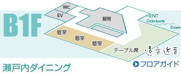 B1F 濑户内餐厅