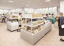 1F retail floor