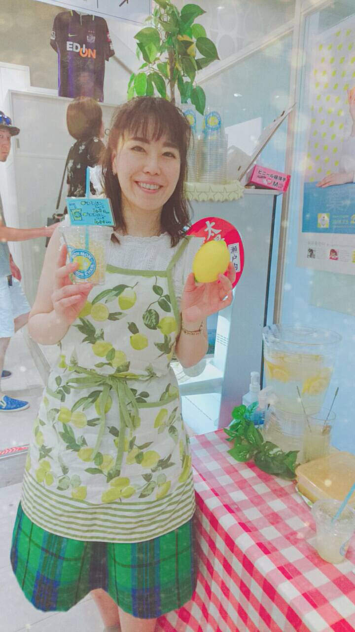 【がんばろう広島】尾道・せとだレモン大使の葉月美姫さんプロデュース「モンモンレモンちゃんジュース」がTAU初登場!