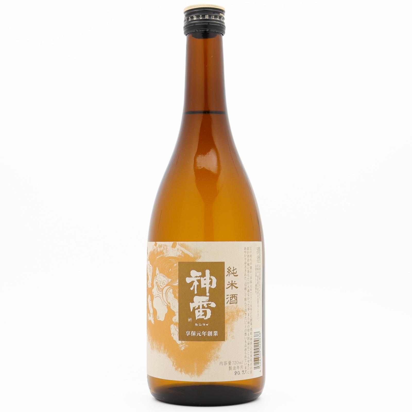 神雷 純米酒