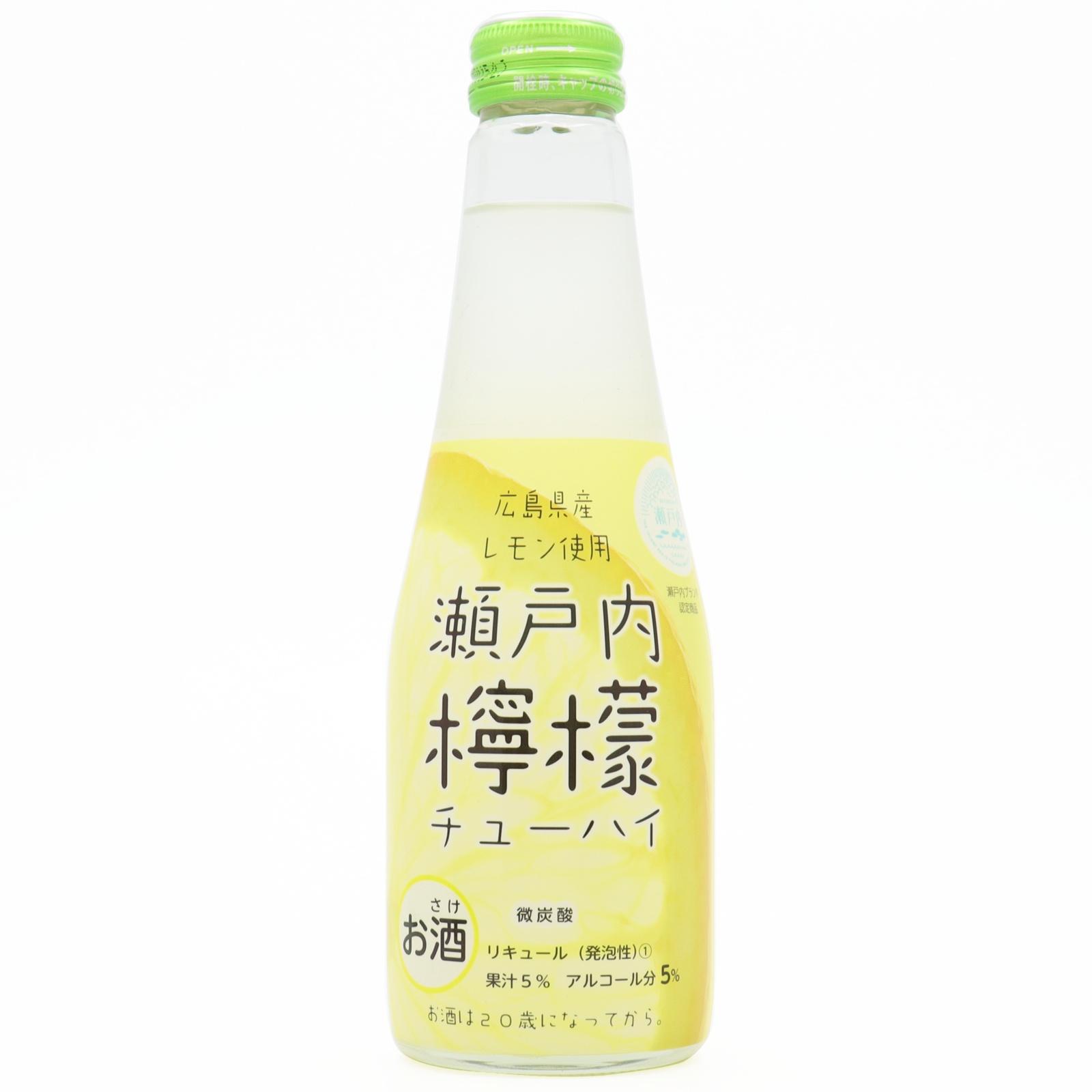 瀬戸内檸檬チューハイ瓶