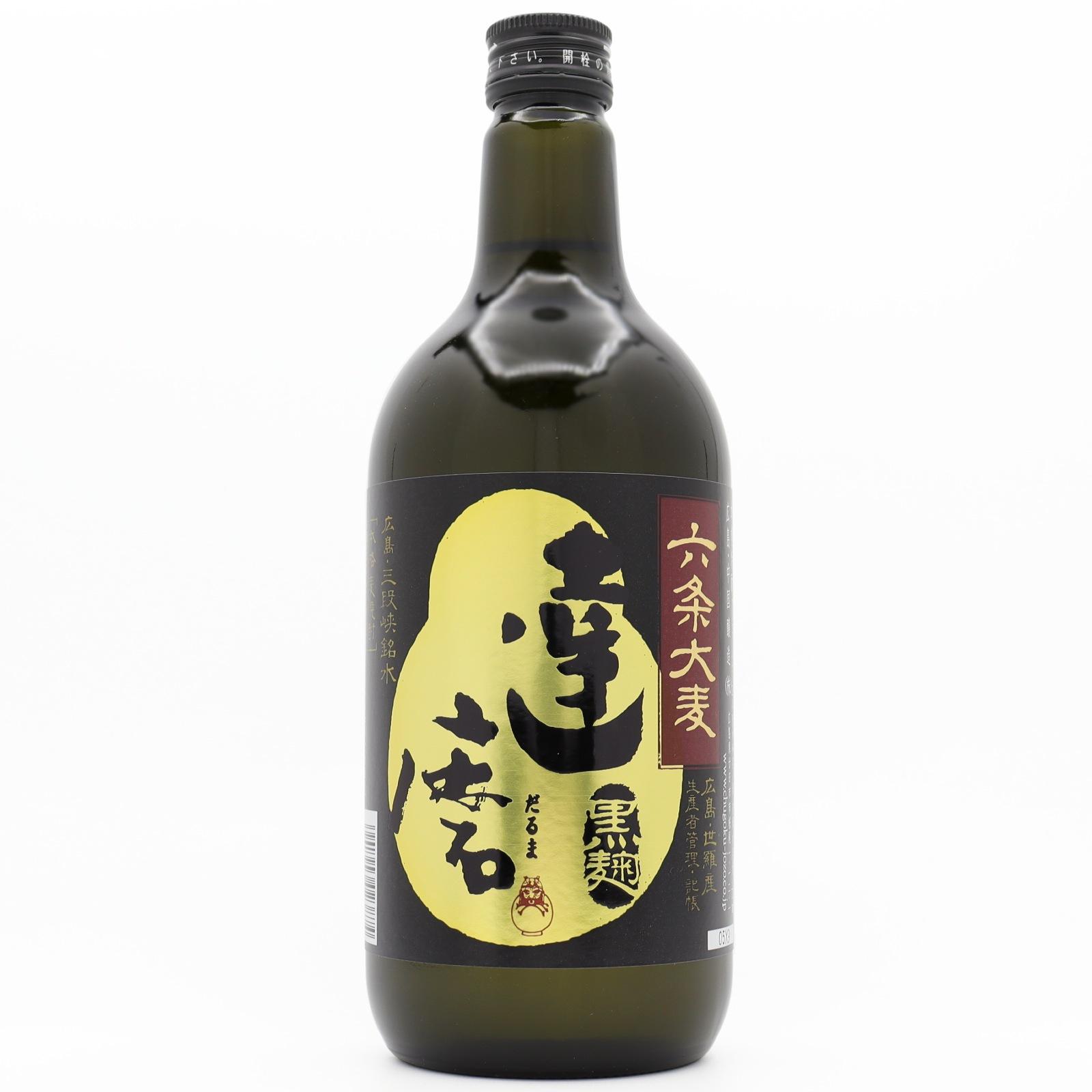 達磨 黒麹仕込み本格麦焼酎 (六条大麦)