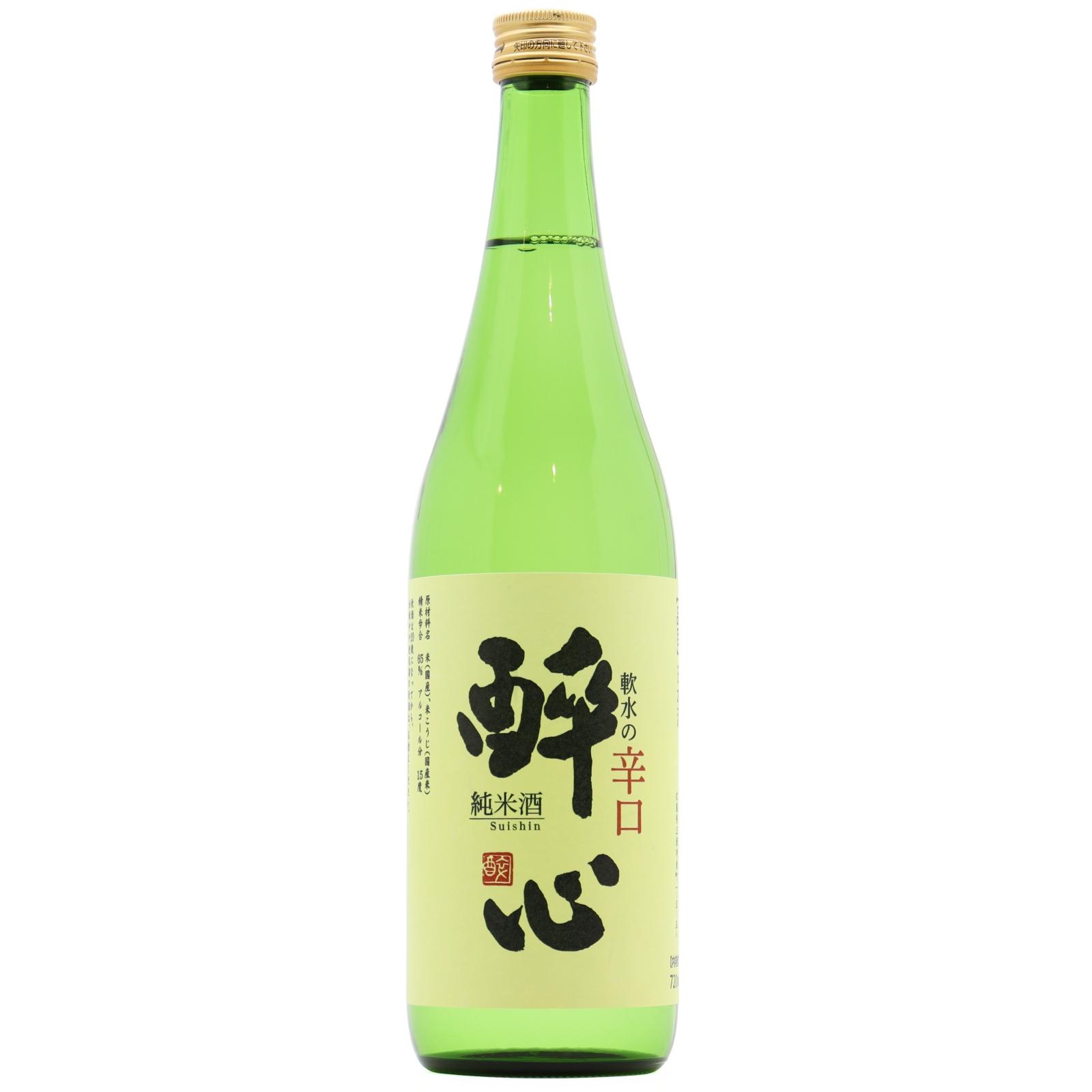 醉心 軟水の辛口 純米酒